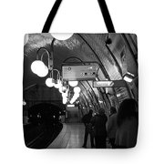 Paris Tube Station Cite - Hidden Kiss Tote Bag