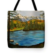 Hidden Lake Tote Bag