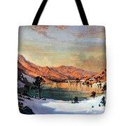 Hidden Lake Western United States Tote Bag