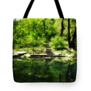 Hidden Pond At Schuylkill Valley Nature Center Tote Bag