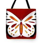 Hidden Possibilities And Abstract Butterflies By Omashte Tote Bag