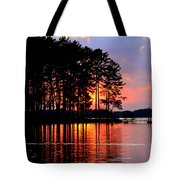 Hidden Sunrise Tote Bag