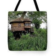 Hidden Treehouse Tote Bag