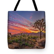 Hidden Valley Sunset Tote Bag