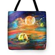 Hidden Worlds Tote Bag