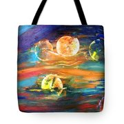 Hidden Worlds Tote Bag