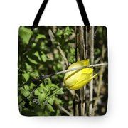 Hidden Yellow Tulip Tote Bag