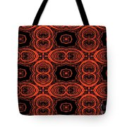 Hiding Behind A Red Mask Tote Bag