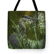 Hiding In The Grass Tote Bag