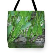 Hiding In The Weeds Tote Bag
