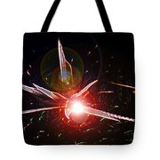 Higgs Boson Work B Tote Bag
