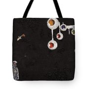 High Above Him There Tote Bag