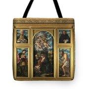 High Altarpiece S Alessandro Brescia Tote Bag
