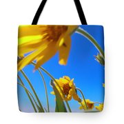 High And Windy  Tote Bag