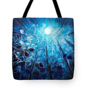 High At Night Tote Bag