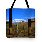 High Chaparral - Mountain View Tote Bag