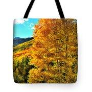 High Country Aspens Tote Bag
