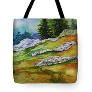 High Country Boulders Tote Bag