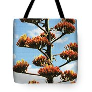 High Country Red Bud Agave Tote Bag