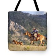 High Country Ride Tote Bag