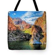 High Desert Lake Tote Bag