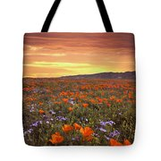 High Desert Sunset Serenade Tote Bag