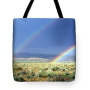 High Dessert Rainbow Tote Bag