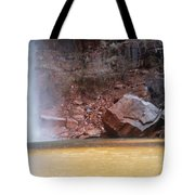 High Falls Emerald Pool Tote Bag