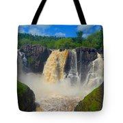 High Falls In July Tote Bag