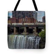 High Falls, Rochester  Tote Bag