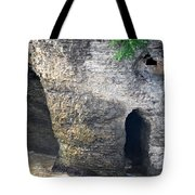 High Falls Rock Formation Tote Bag