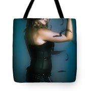 High Fashion Female Mystery Dancer Tote Bag