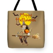 High Flying Scarecrow Tote Bag