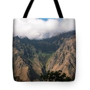 High In The Andes Tote Bag