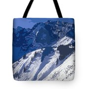 High In The Bavarian Alps Tote Bag