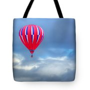 High In The Sky - Hot Air Balloon Tote Bag