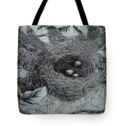 High In The Trees Tote Bag