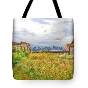 High Line On The Hudson Tote Bag