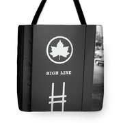 High Line Park Nyc Tote Bag