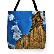 High Noon At The Bell Tower Tote Bag