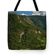 High On The White Mountains Tote Bag