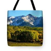 High Peaks Of The San Juan Mountains Tote Bag