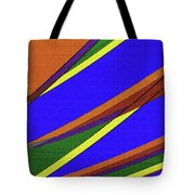 High Power Wires Abstract Color Sky Tote Bag