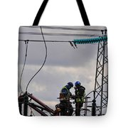 High Power Workers Tote Bag