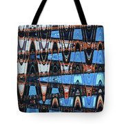 High Rise Construction Abstract # 4 Tote Bag