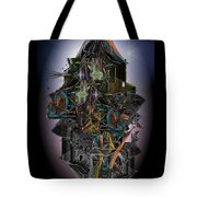 High Rise Living In The New City Tote Bag