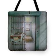 High Risk Solitary Confinement Cell In Prison Tote Bag