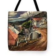 High Road At Jerome Tote Bag