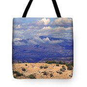 High Road To Taos Panorama Tote Bag