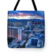 High Roller Sunset Tote Bag